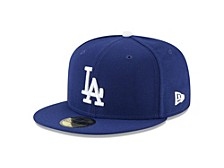 Los Angeles Dodgers 2020 World Series Champ Authentic Collection 59FIFTY Cap