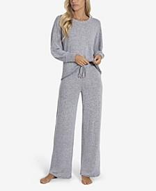 Vesper Women's Hacci 2pc Loungewear Set