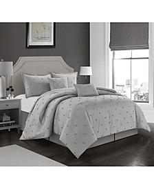 America Lexi 4 Piece Comforter Set, King