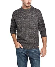 Men's Stitch Marl Crew Neck Sweater