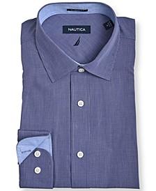 Men's Classic/Regular-Fit Plaid Dress Shirt