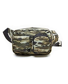 Boxy Camouflage Utility Fannypack