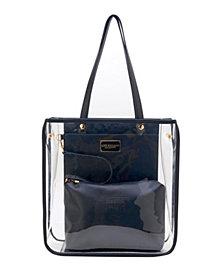 LIKE DREAMS Transparent Polyurethane Tote Bag