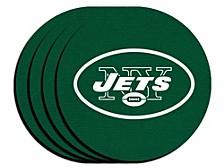 New York Jets 4-Pack Neoprene Coaster Set