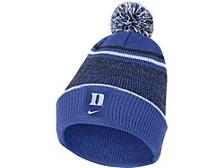 Duke Blue Devils Sideline Beanie Pom Knit