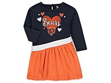 Chicago Bears Toddler Girls Tunic Dress