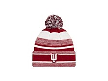 Indiana Hoosiers Striped Marled Knit Hat