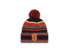 Syracuse Orange Striped Marled Knit Hat