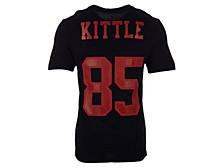 San Francisco 49ers George Kittle Men's Pride Name and Number Wordmark T-Shirt