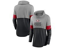 San Francisco 49ers Women's Cowl Neck Long Sleeve Shirt