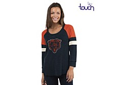 Chicago Bears Women's Distinct Snap Thermal T-Shirt