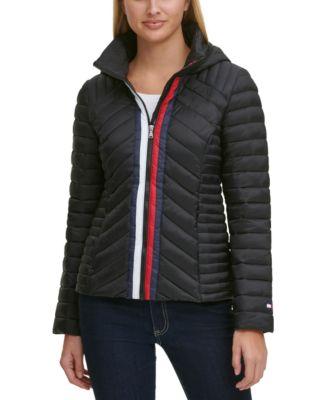 Quilted Zip Puffer Coat