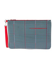 Plaid Laptop Clutch Case