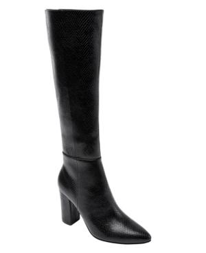 Women's Fay Block-Heel Tall Dress Boots Women's Shoes