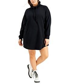 Trendy Plus Size Sweatshirt Dress