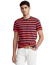 Men's Classic-Fit Striped Crewneck T-Shirt