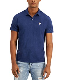 Men's Eli Jersey Washed Polo