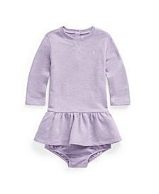 Ralph Lauren Baby Girls Terry Dress & Bloomer