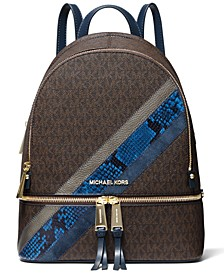 Rhea Zip Medium Signature Backpack