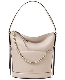 Reese Large Leather Shoulder Bag
