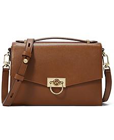 Hendrix Medium Leather Messenger Bag