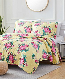 St. Croix Betsy 3-Piece Reversible Quilt Set, Queen