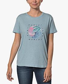 Hurley Juniors' Cotton Graphic Boyfriend T-Shirt