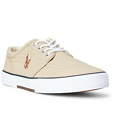 Men's Faxon Washed Canvas Sneaker