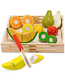 Melissa and Doug Kids Toy, Cutting Fruit Set