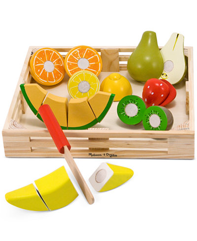 Melissa and Doug Kids Toy, Cutting Fruit Set