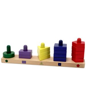 Melissa and Doug Kids Toy, Stack & Sort Board 1130412