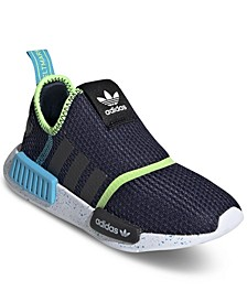 Little Boys NMD 360 Slip-On Casual Sneakers from Finish Line