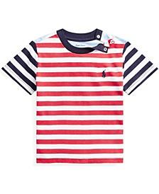 Ralph Lauren Baby Boys Striped Cotton Jersey Tee