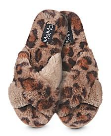 Cheetah Plush Women's Slippers
