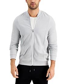 Men's Zip-Front Sweater Jacket, Created for Macy's