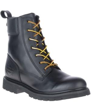 """Beason Men's 7"""" Lace Riding Boot Men's Shoes"""