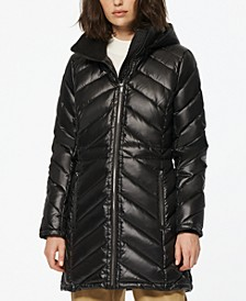 Nimbus Quilted Hooded Puffer Coat
