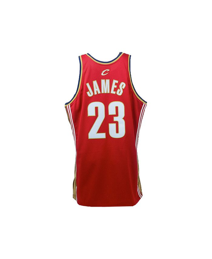Mitchell & Ness Men's Cleveland Cavaliers Authentic Jersey ...
