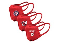 "Level Wear Washington Nationals 3pack ""Guard 2"" Face Covering"