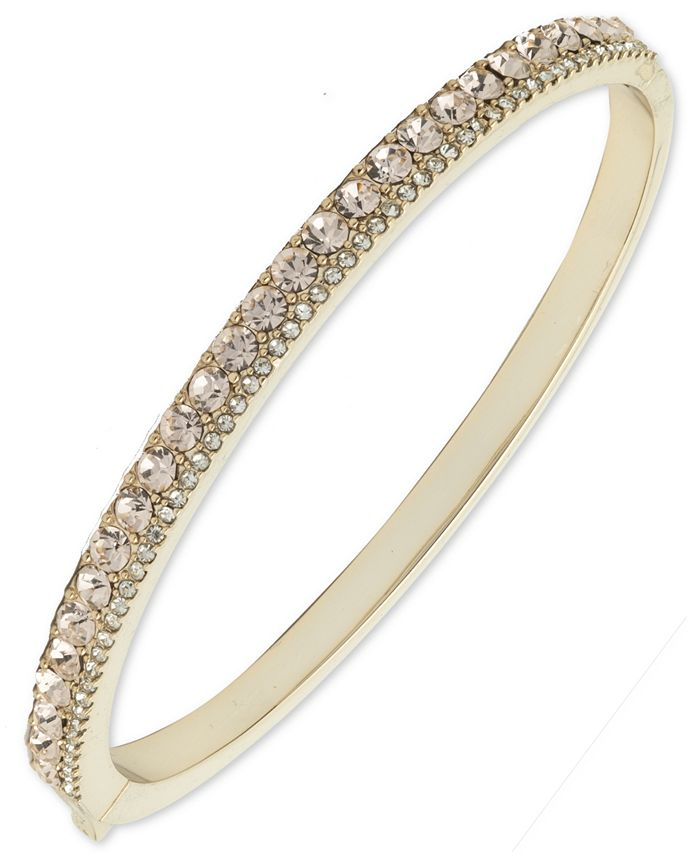 Givenchy - Double Pavé Bangle Bracelet
