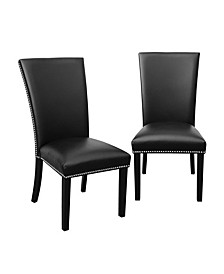 Camila Black Dining Chair, Created for Macy's