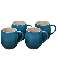 Heritage Stoneware 13-Oz. Mugs, Set of 4