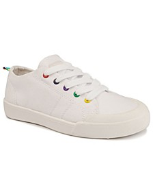 Women's Festival Rainbow-Eyelet Sneakers