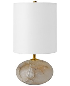 Regina Andrew Alabaster Orb Table Lamp