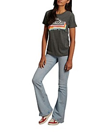 Women's Vintage Like Logo T-Shirt