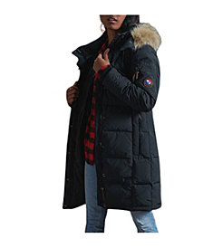 Superdry Women's Longline Premium Rescue Down Coat