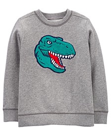 Carters Big  Boy Dinosaur Fleece Pullover