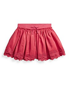 Big Girls Eyelet Scooter Skirt