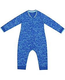 earth by Organic Baby Boy 1-Piece Luke Coverall