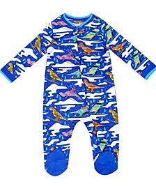 earth by Organic Baby Boy 1-Piece Cole Coverall